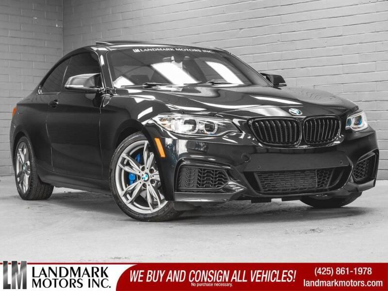 2015 BMW 2 Series for sale in Bellevue, WA