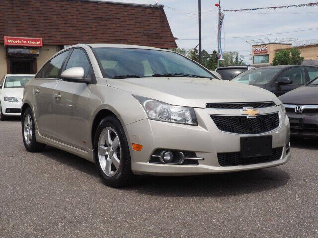 2013 Chevrolet Cruze for sale at Sunrise Used Cars INC in Lindenhurst NY