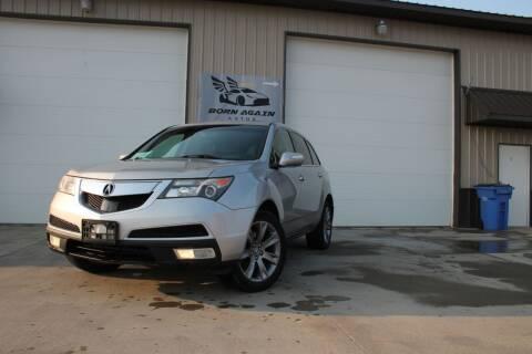 2010 Acura MDX for sale at Born Again Auto's in Sioux Falls SD