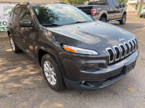 2016 Jeep Cherokee for sale at GO GREEN MOTORS in Lakewood CO