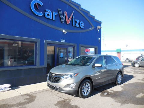 2018 Chevrolet Equinox for sale at Carwize in Detroit MI