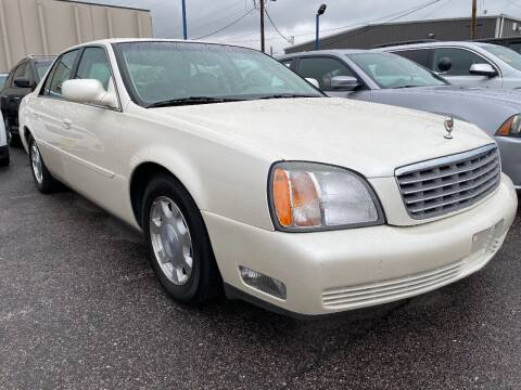 2002 Cadillac DeVille for sale at New Wave Auto Brokers & Sales in Denver CO