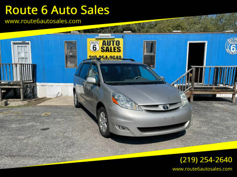 2006 Toyota Sienna for sale at Route 6 Auto Sales in Portage IN