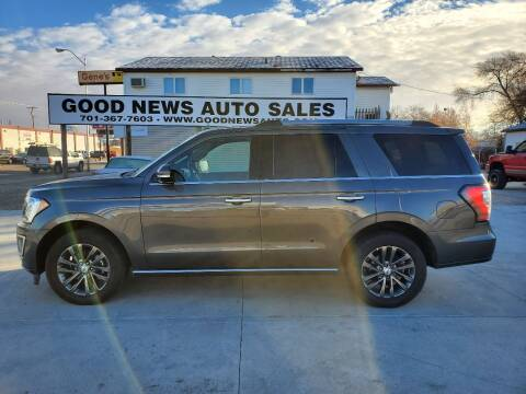 2020 Ford Expedition for sale at GOOD NEWS AUTO SALES in Fargo ND