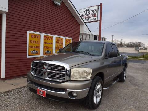 2007 Dodge Ram Pickup 1500 for sale at Mack's Autoworld in Toledo OH
