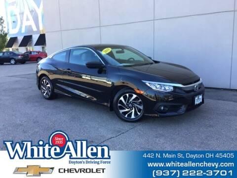 2018 Honda Civic for sale at WHITE-ALLEN CHEVROLET in Dayton OH