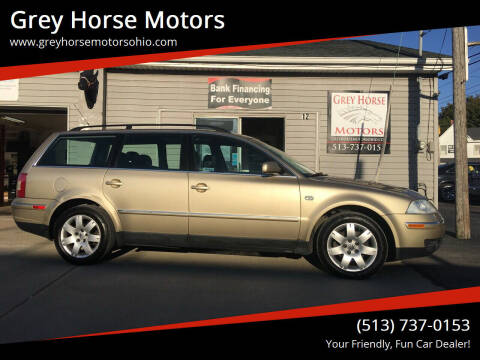 2001 Volkswagen Passat for sale at Grey Horse Motors in Hamilton OH