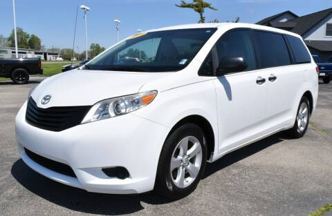 2014 Toyota Sienna for sale at Heritage Automotive Sales in Columbus in Columbus IN