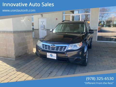 2013 Subaru Forester for sale at Innovative Auto Sales in North Hampton NH