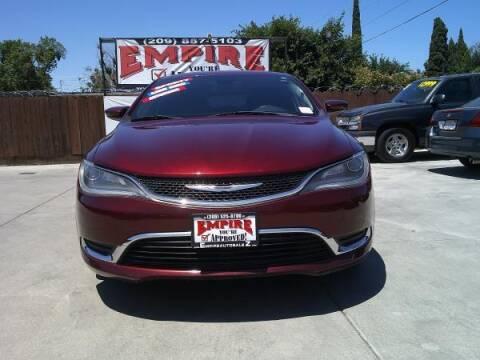 2015 Chrysler 200 for sale at Empire Auto Sales in Modesto CA