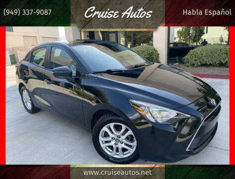 2018 Toyota Yaris iA for sale at Cruise Autos in Corona CA