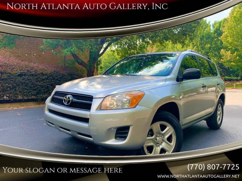 2012 Toyota RAV4 for sale at North Atlanta Auto Gallery, Inc in Alpharetta GA