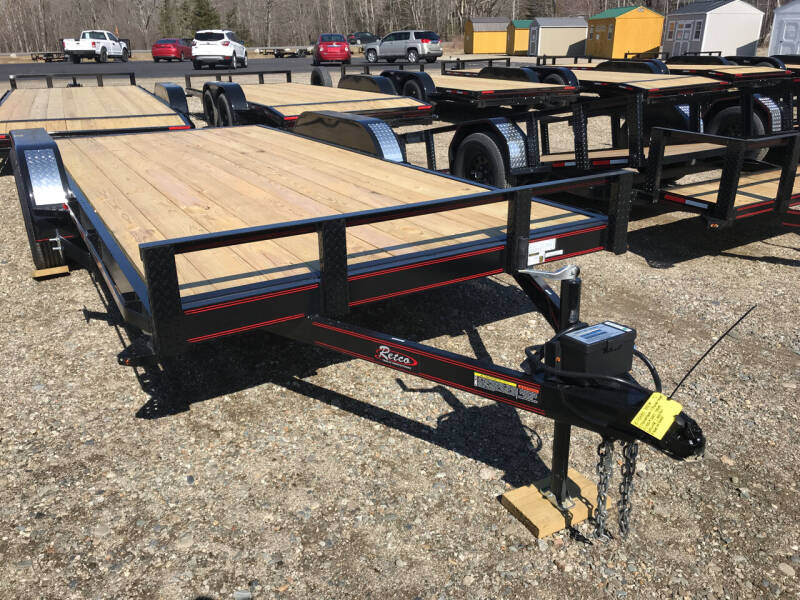 2021 zRettig 18ftFlatbed for sale at Greg's Auto Sales in Searsport ME