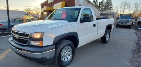 2006 Chevrolet Silverado 1500 for sale at Russo's Auto Exchange LLC in Enfield CT