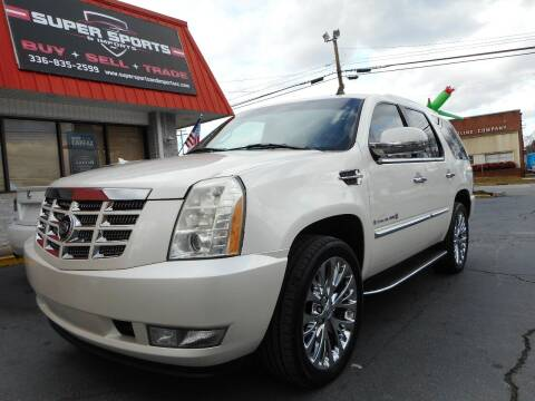 2007 Cadillac Escalade for sale at Super Sports & Imports in Jonesville NC