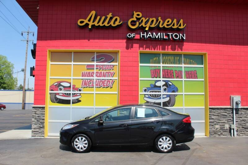 2013 Ford Fiesta for sale at AUTO EXPRESS OF HAMILTON LLC in Hamilton OH