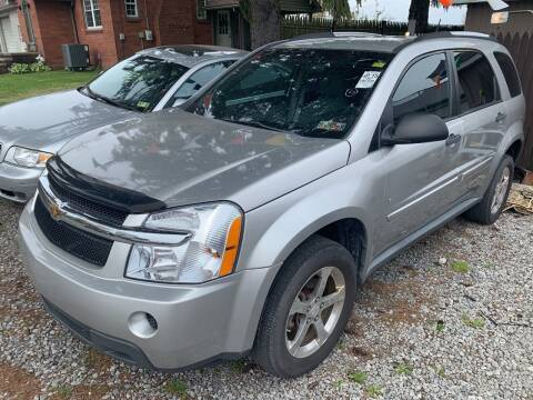 2007 Chevrolet Equinox for sale at Trocci's Auto Sales in West Pittsburg PA