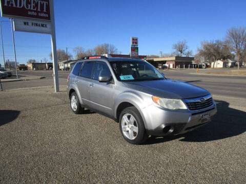 2009 Subaru Forester for sale at Padgett Auto Sales in Aberdeen SD