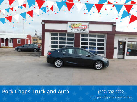 2018 Chevrolet Cruze for sale at Pork Chops Truck and Auto in Cheyenne WY