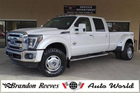 2015 Ford F-350 Super Duty for sale at Brandon Reeves Auto World in Monroe NC