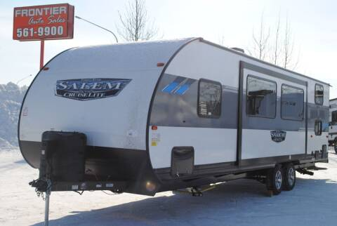 2020 Forest River 263BHXL for sale at Frontier Auto & RV Sales in Anchorage AK