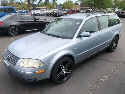 2003 Volkswagen Passat for sale at Blue Line Auto Group in Portland OR
