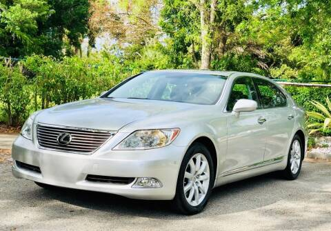 2007 Lexus LS 460 for sale at Sunshine Auto Sales in Oakland Park FL