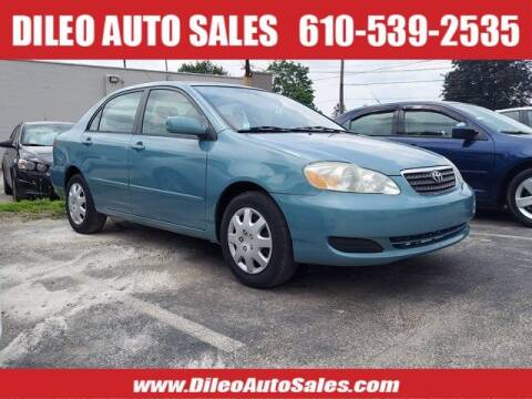 2005 Toyota Corolla for sale at Dileo Auto Sales in Norristown PA