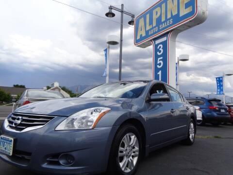 2012 Nissan Altima for sale at Alpine Auto Sales in Salt Lake City UT