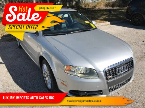 2008 Audi A4 for sale at LUXURY IMPORTS AUTO SALES INC in North Branch MN