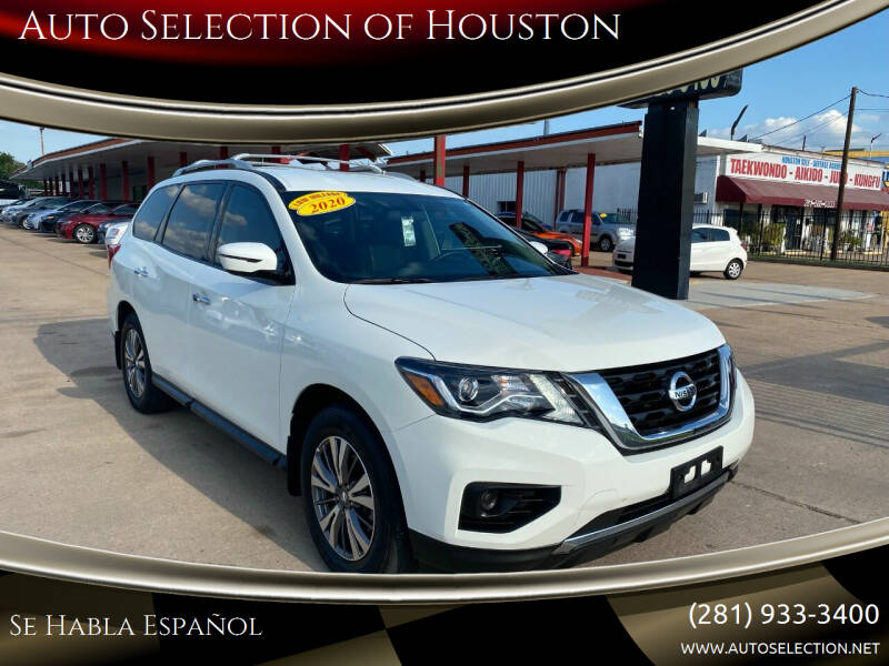 2020 Nissan Pathfinder for sale at Auto Selection of Houston in Houston TX