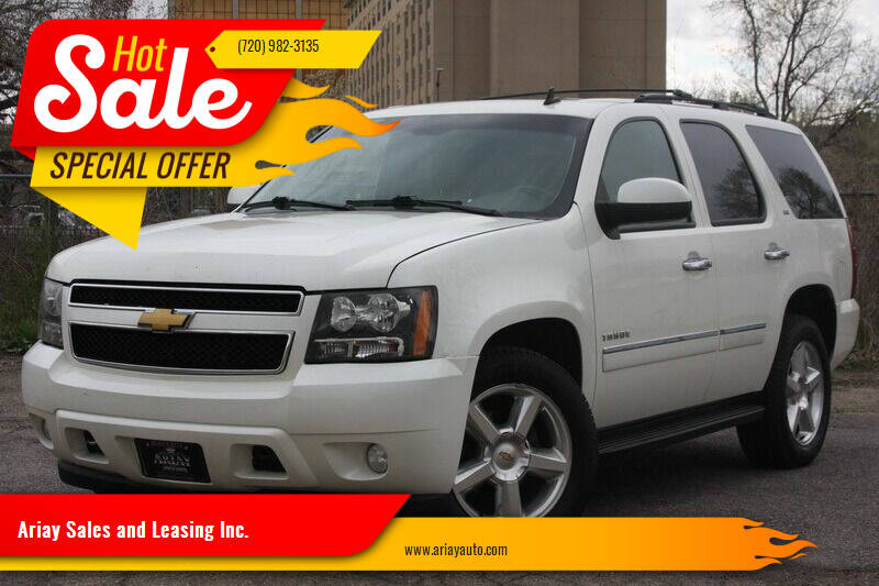 2013 Chevrolet Tahoe for sale at Ariay Sales and Leasing Inc. in Denver CO
