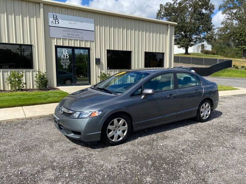 2009 Honda Civic for sale at B & B AUTO SALES INC in Odenville AL