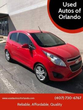 2013 Chevrolet Spark for sale at Used Autos of Orlando in Orlando FL