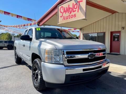 2011 Chevrolet Silverado 1500 for sale at Sandlot Autos in Tyler TX