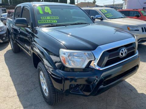 2014 Toyota Tacoma for sale at CAR GENERATION CENTER, INC. in Los Angeles CA