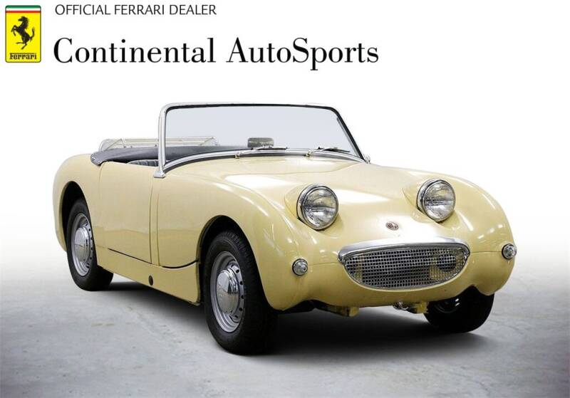 1961 Austin-Healey Sprite for sale at CONTINENTAL AUTO SPORTS in Hinsdale IL