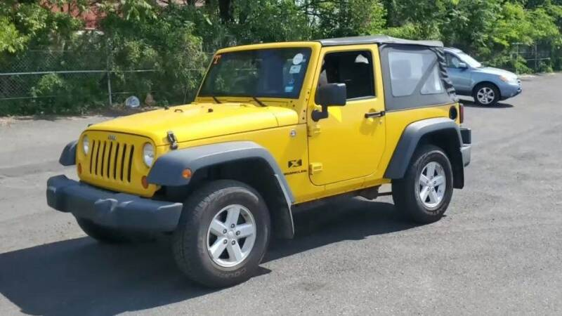 2008 Jeep Wrangler for sale at Tumbleson Automotive in Kewanee IL