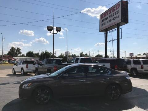 2014 Nissan Maxima for sale at United Auto Sales in Oklahoma City OK