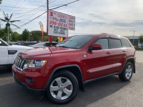 2011 Jeep Grand Cherokee for sale at 1st Choice Auto Sales in Newport News VA