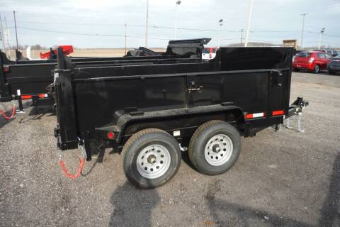 2021 Quality Steel 6X10 DUMP 10K AXLES for sale at Bryan Auto Depot in Bryan OH