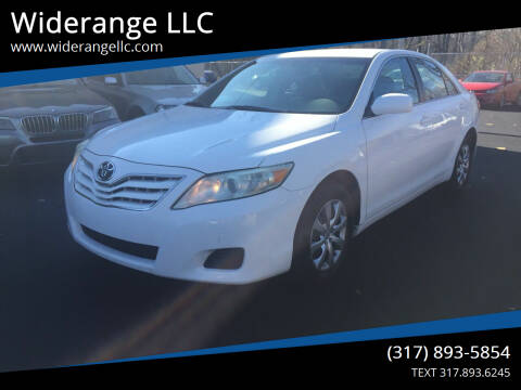 2010 Toyota Camry for sale at Widerange LLC in Greenwood IN