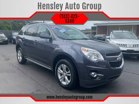 2014 Chevrolet Equinox for sale at Hensley Auto Group in Middletown OH