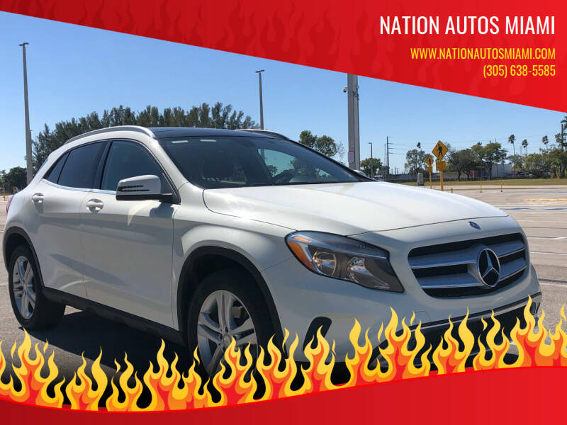 2015 Mercedes-Benz GLA for sale at Nation Autos Miami in Hialeah FL