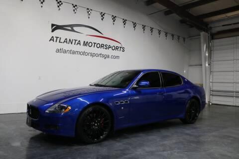 2012 Maserati Quattroporte for sale at Atlanta Motorsports in Roswell GA