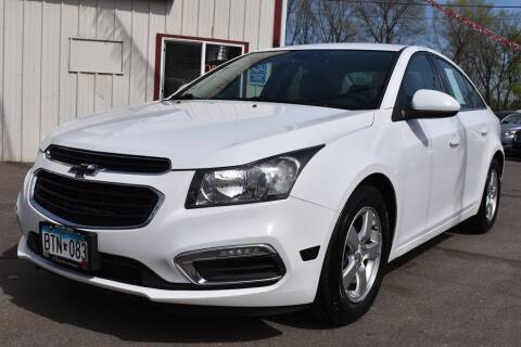 2015 Chevrolet Cruze for sale at Dealswithwheels in Inver Grove Heights/Hastings MN