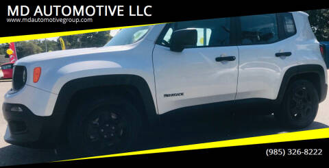 2015 Jeep Renegade for sale at MD AUTOMOTIVE LLC in Slidell LA