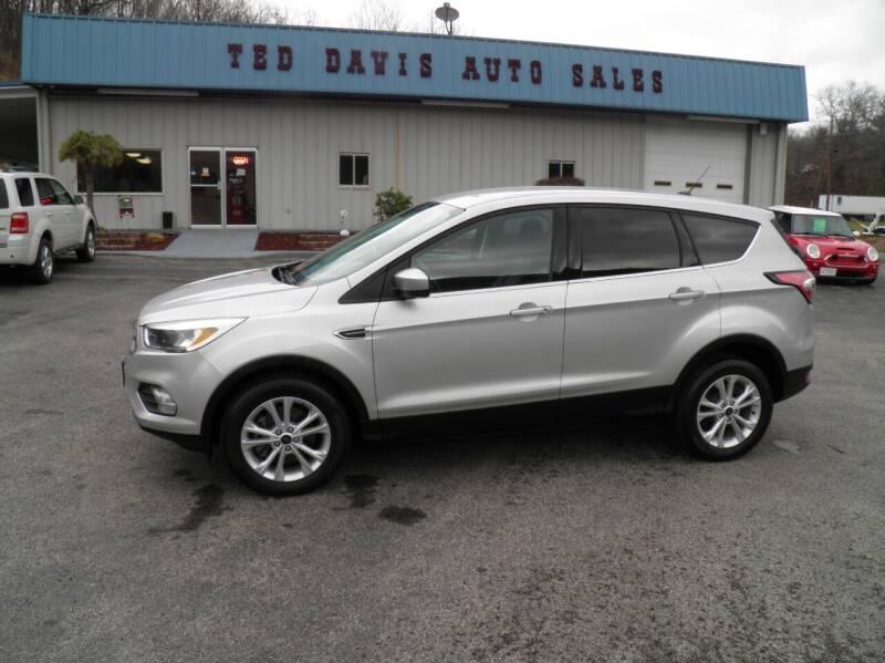 2017 Ford Escape for sale at Ted Davis Auto Sales in Riverton WV