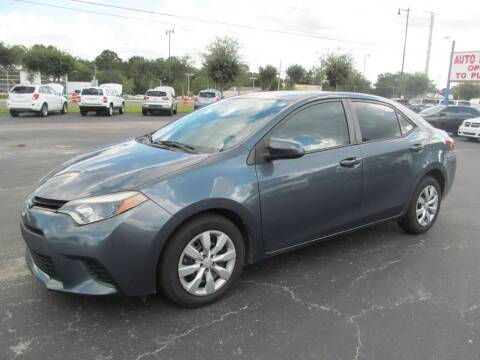 2014 Toyota Corolla for sale at Blue Book Cars in Sanford FL