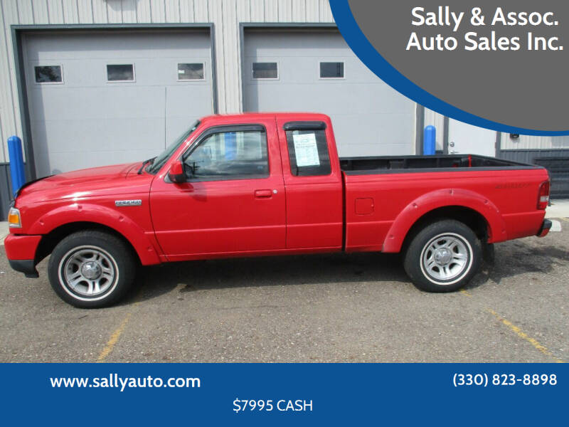 2008 Ford Ranger for sale at Sally & Assoc. Auto Sales Inc. in Alliance OH